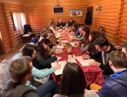 Ретрит молодежных лидеров киевских общин