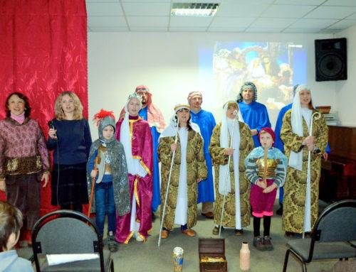 Історія Різдва Ісуса оживає, торкаючись сердець